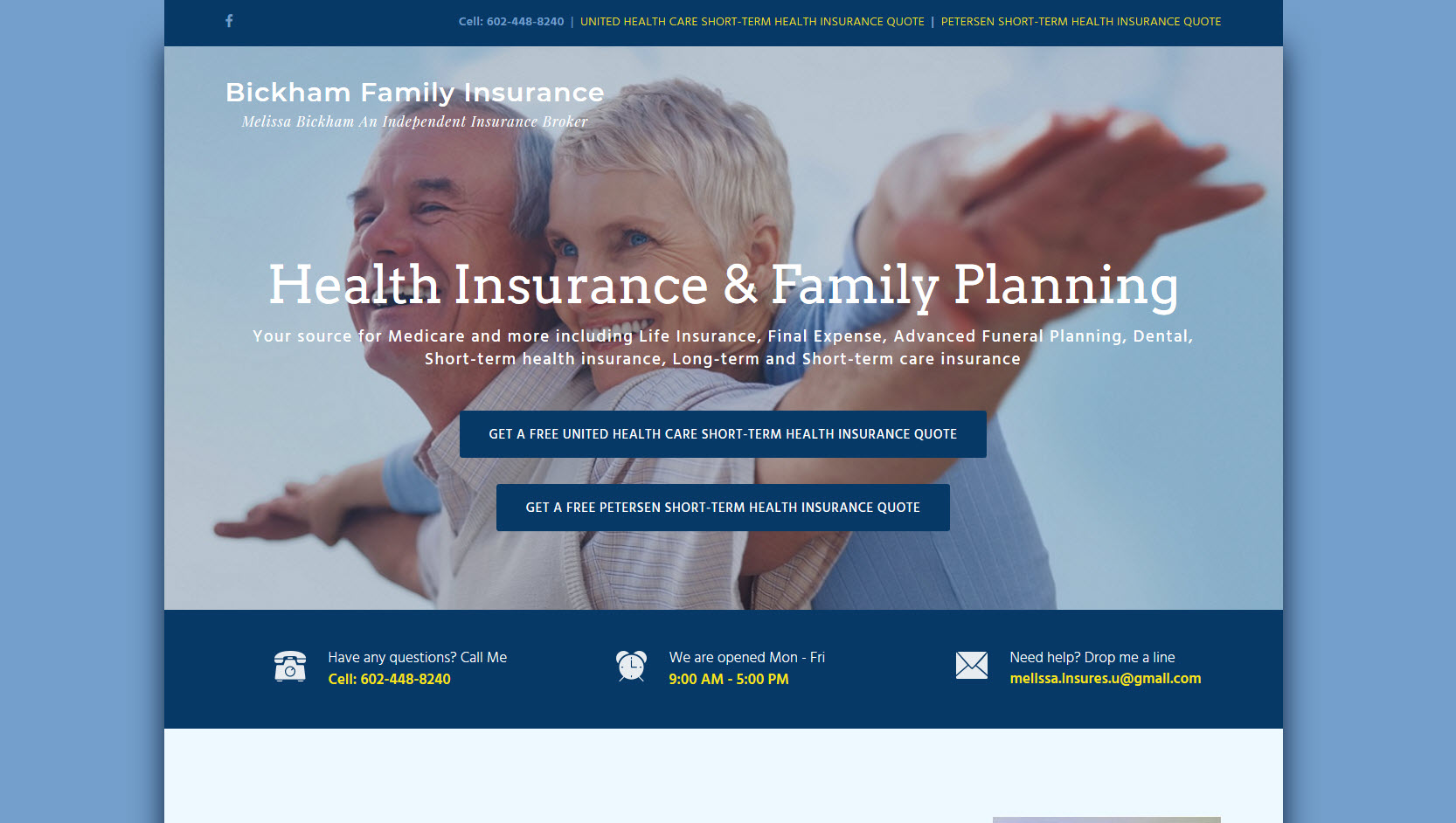 Long Term Care Insurance Quotes Melissa Insures U  Your Insurance Source For Medicare And More